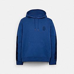 SIGNATURE TAPE HOODIE - C5231 - ROYAL BLUE