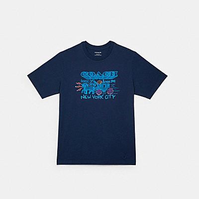 アート スクール グラフィック Tシャツ