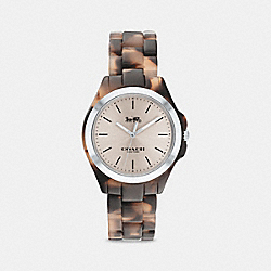 LIBBY WATCH, 30MM - PINK TORTIOSE - COACH C5284