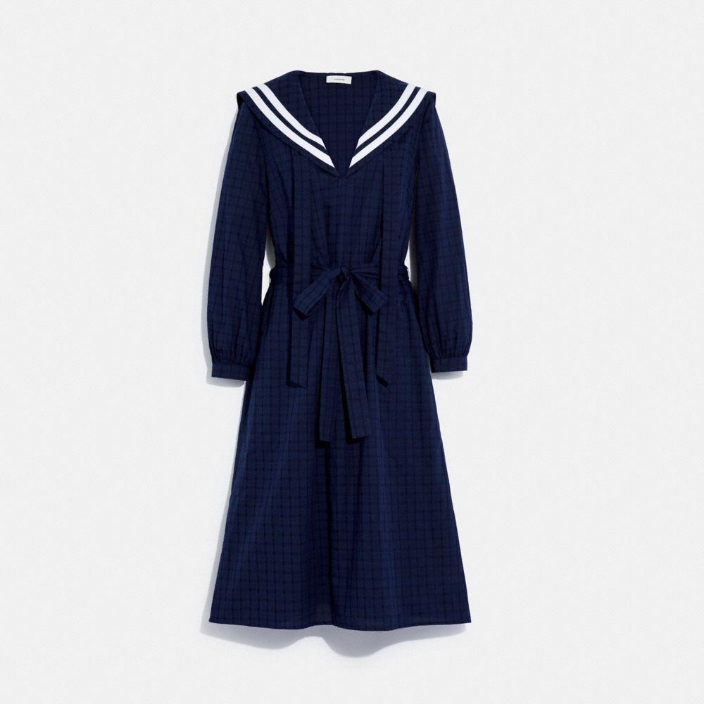長袖連身裙