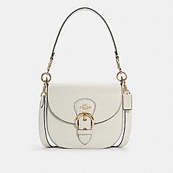 COACH C5686 Kleo Shoulder Bag 23 IM/CHALK
