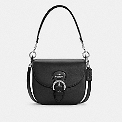 KLEO SHOULDER BAG 23 - C5686 - SV/BLACK