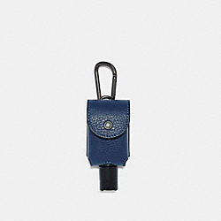 COACH C5764 Hand Sanitizer Holder QB/COBALT
