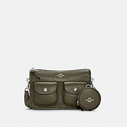 PENNIE CROSSBODY WITH COIN CASE - C5778 - SV/SURPLUS