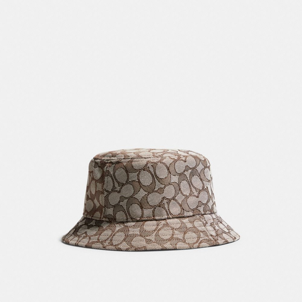 經典 SIGNATURE 緹花面料漁夫帽