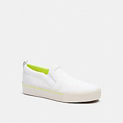 COACH C5933 Citysole Slip On Sneaker OPTIC WHITE