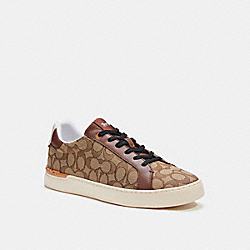 COACH C5981 Clip Low Top Sneaker KHAKI