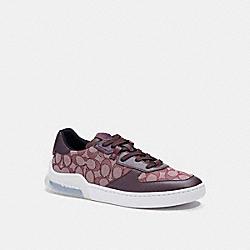 COACH C5994 Citysole Court Sneaker BURGUNDY/OXBLOOD