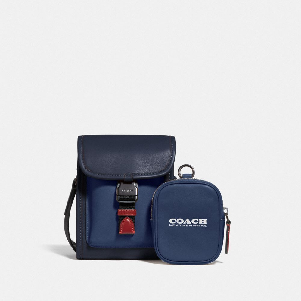 CHARTER NORTH/SOUTH CROSSBODY WITH HYBRID POUCH IN COLORBLOCK