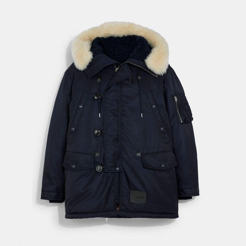 COACH X SCHOTT N.Y.C. 聯名 PARKA 大衣