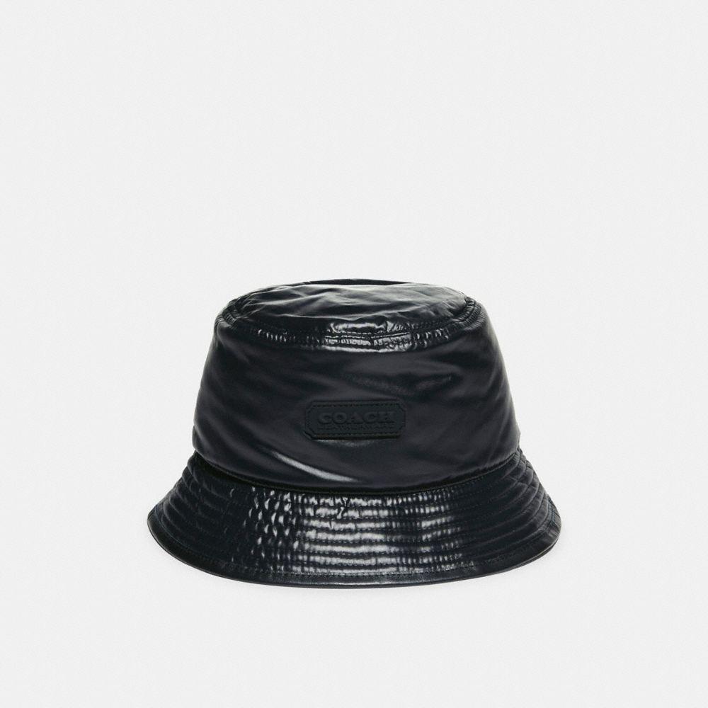 雙面經典 SIGNATURE 尼龍緹花面料漁夫帽