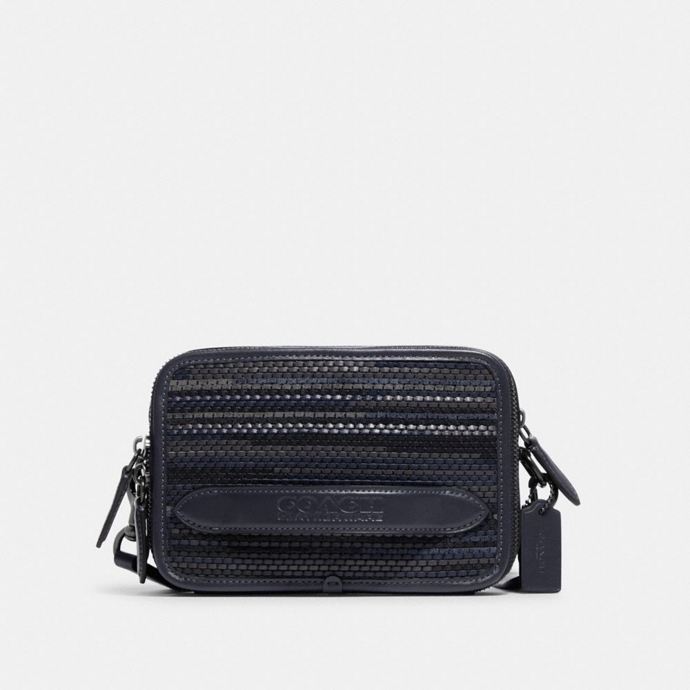 CHARTER CROSSBODY IN UPWOVEN LEATHER