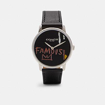 COACH X JEAN-MICHEL BASQUIAT グランド ウォッチ 40MM