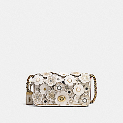 COACH F10510 - DINKIER WITH SMALL TEA ROSE OL/CHALK
