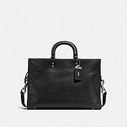 COACH F11104 - ROGUE BRIEF BLACK/LIGHT ANTIQUE NICKEL