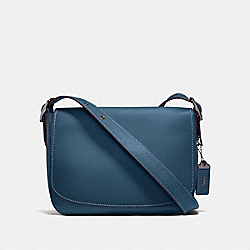 COACH F11108 Saddle 33 DARK DENIM/GUNMETAL