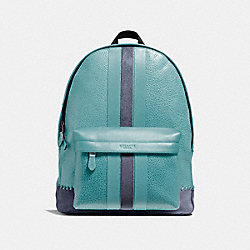CHARLES BACKPACK WITH BASEBALL STITCH - f11250 - QBCYA