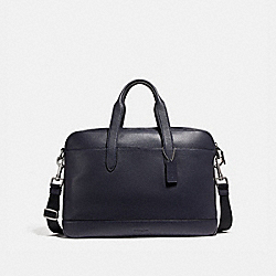 COACH F11319 Hamilton Bag NICKEL/MIDNIGHT NAVY/BLACK