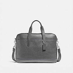 COACH F11319 Hamilton Bag NICKEL/GRAPHITE/DENIM