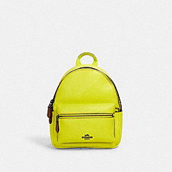 COACH F11769 - KEITH HARING MINI CHARLIE BACKPACK QB/BRIGHT YELLOW