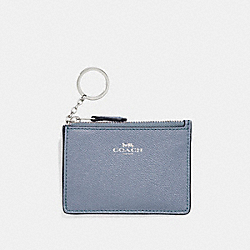 COACH F11836 Mini Skinny Id Case SILVER/DUSK 2