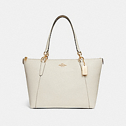 AVA TOTE - f11900 - CHALK/IMITATION GOLD