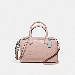 COACH F11920 - MINI BENNETT SATCHEL SILVER/LIGHT PINK
