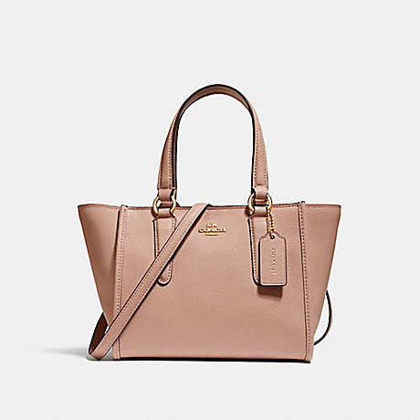 COACH f11925 CROSBY CARRYALL 21 IMITATION GOLD/NUDE PINK