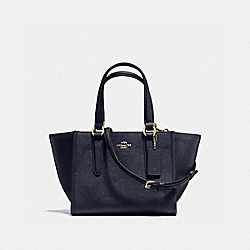 COACH F11925 Crosby Carryall 21 MIDNIGHT/GOLD