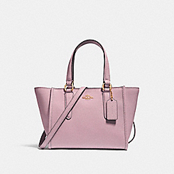 COACH F11925 Crosby Carryall 21 SILVER/BLUSH 2
