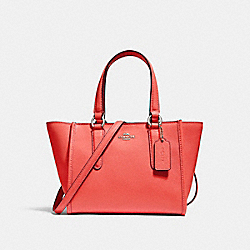 COACH F11925 - CROSBY CARRYALL 21 SILVER/WATERMELON