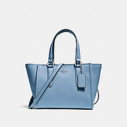 COACH F11925 - CROSBY CARRYALL 21 SILVER/POOL