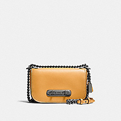 COACH F12061 - COACH SWAGGER SHOULDER BAG 20 DK/YELLOW GOLD