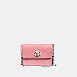 COACH F12092 Bowery Crossbody In Glitter SILVER/GLITTER ROSE