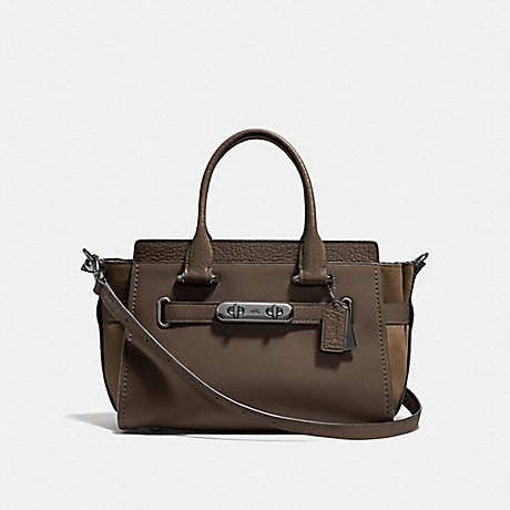 COACH F12117 COACH SWAGGER 27 FATIGUE/DARK-GUNMETAL