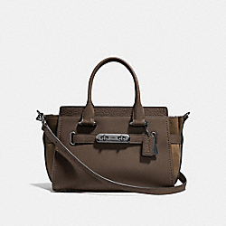 COACH F12117 - COACH SWAGGER 27 FATIGUE/DARK GUNMETAL