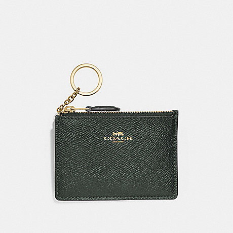 COACH F12186 MINI SKINNY ID CASE IVY/IMITATION-GOLD