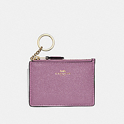 COACH F12186 - MINI SKINNY ID CASE PRIMROSE/LIGHT GOLD