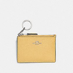 COACH F12186 Mini Skinny Id Case SUNFLOWER