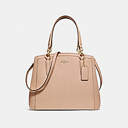 MINETTA CROSSBODY - f13683 - BEECHWOOD/light gold