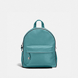COACH F14468 Campus Backpack MARINE/SILVER