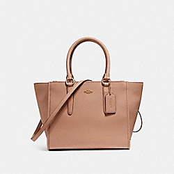 COACH F14928 Crosby Carryall IMITATION GOLD/NUDE PINK