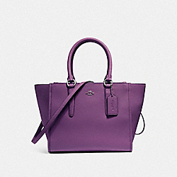 COACH F14928 Crosby Carryall SILVER/BERRY
