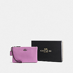 COACH F16111 Boxed Small Wristlet DK/LILY