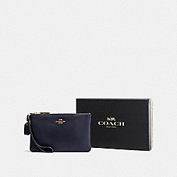 COACH F16111 Boxed Small Wristlet LI/NAVY