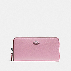 COACH F16612 Accordion Zip Wallet TULIP