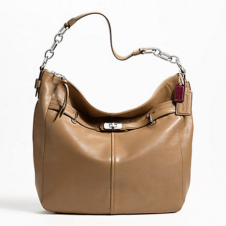 COACH F17790 CHELSEA LEATHER LARGE ASHLYN HOBO ONE-COLOR