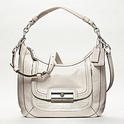COACH F18287 Kristin Spectator Leather Hobo