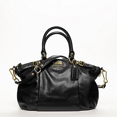 COACH F18609 MADISON SOPHIA SATCHEL IN LEATHER ONE-COLOR