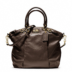 COACH F18641 - MADISON LEATHER LINDSEY SATCHEL ONE-COLOR
